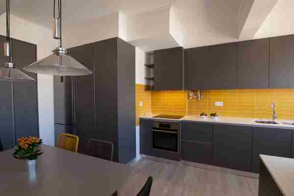 Cozinha cinzenta