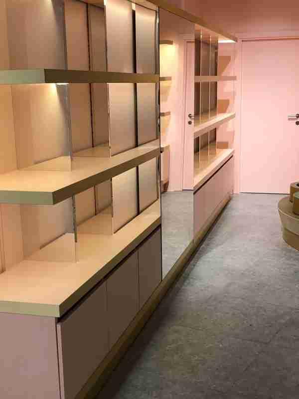 estantes para lojas