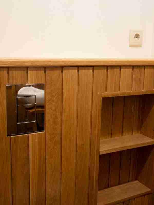 Móveis para WC em madeira